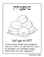 click here for Sufganiyot Coloring Page