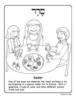 click here for Tu b'Shvat Seder coloring page