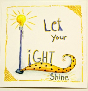 let-your-light-shine, image by artist Michelle Verbeeck