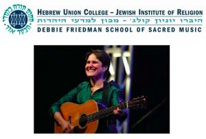 Kumsitz to celebrate the legacy of Debbie Friedman